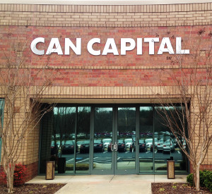 Exterior dimensional letter sign by Glass Graphics of Atlanta.