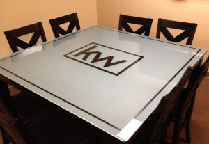 Glass Graphics | Examples of Glass Table & Counter Top Projects