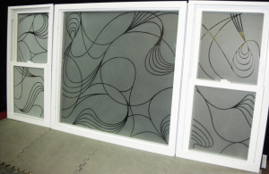"Glass Graphics | Examples of Sandblasted, Frosted, ""Etched"" Glass Work"