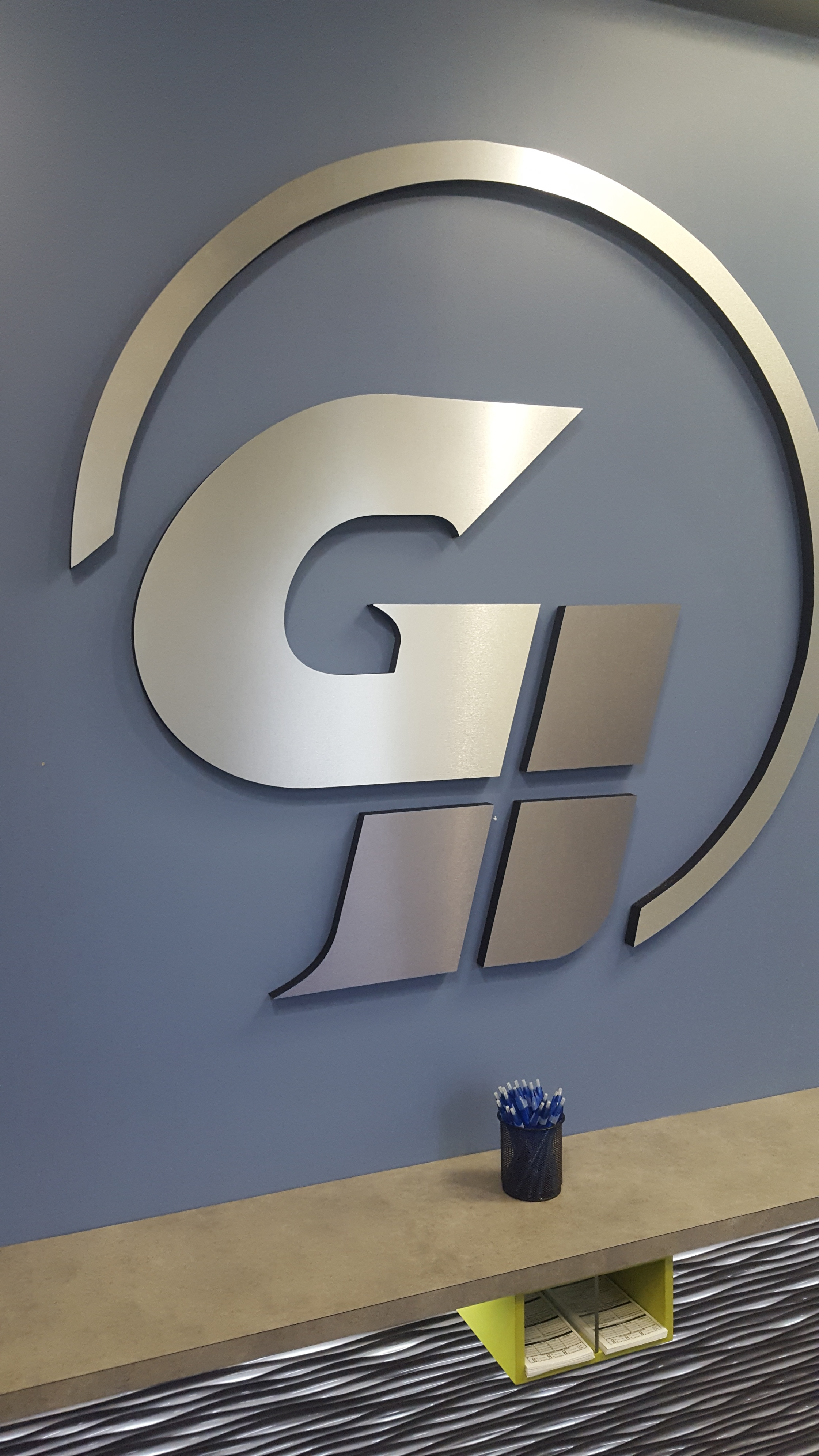 GA Heritage 3D Sign By Glass Graphics of Atlanta