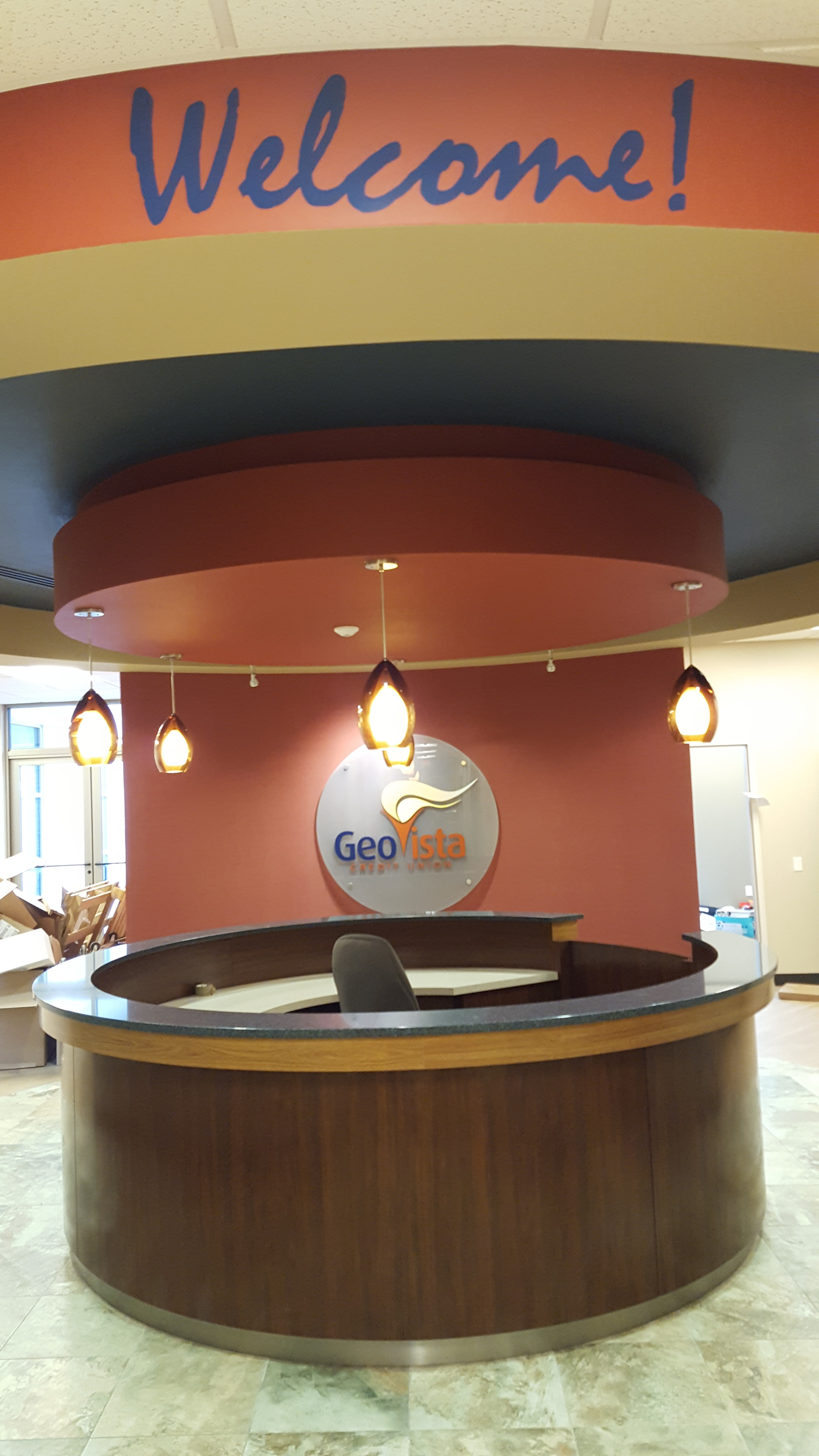 GeoVista Glass and Vinyl by Glass Graphics of Atlanta.