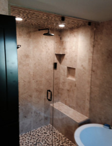 Glass Graphics | Examples of Residential Custom Shower Doors & Enclosures