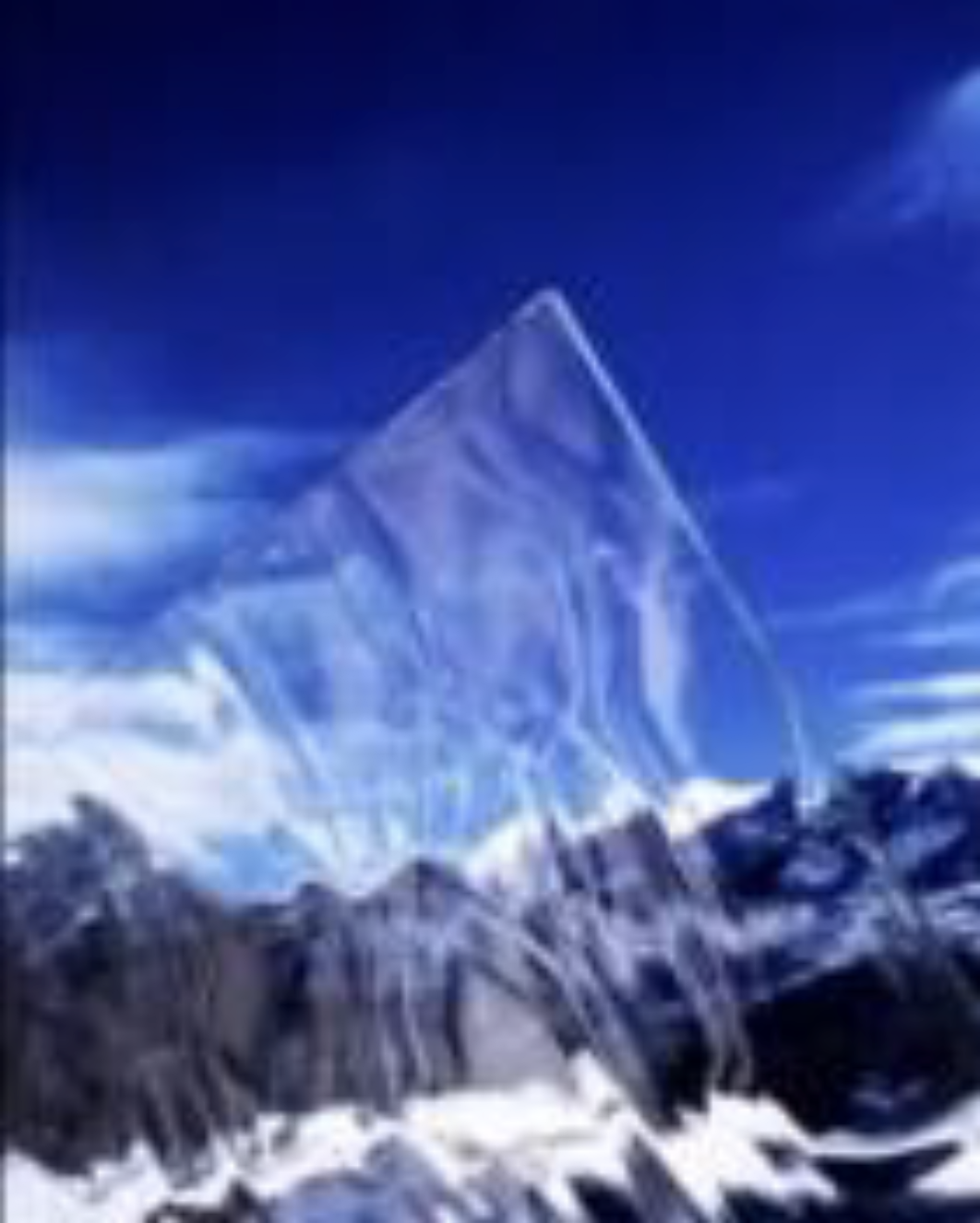 Example of Glacier Glass.