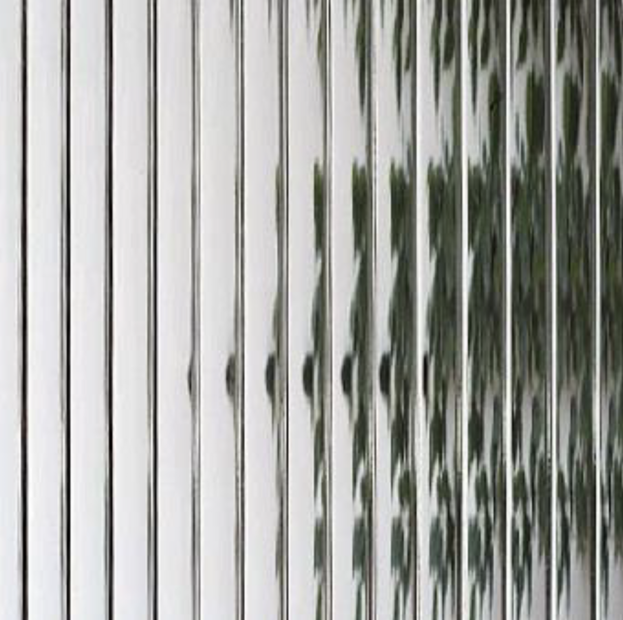 Example of Reeded Glass.